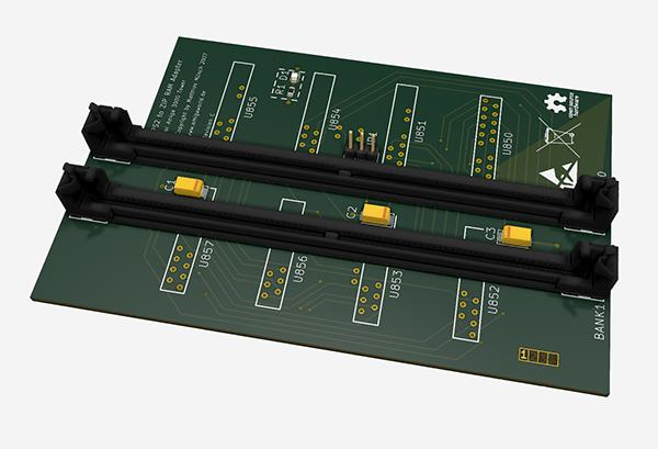 Amiga 3000 Tower SIMM ZIP Ram Adapter