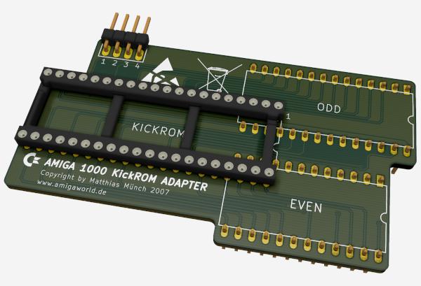 Amiga 1000 Kickstart Adapter