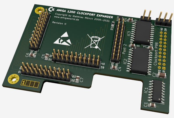 Amiga 1200 Clockport Expander