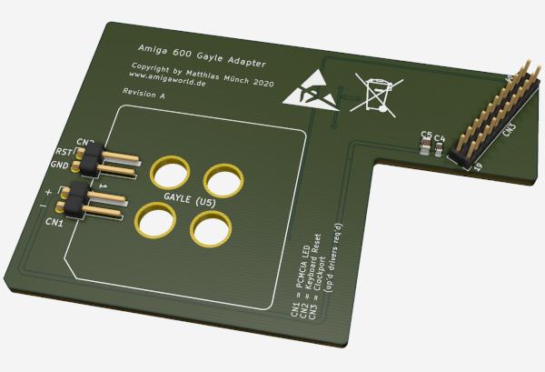 Amiga 600 Gayle Adapter