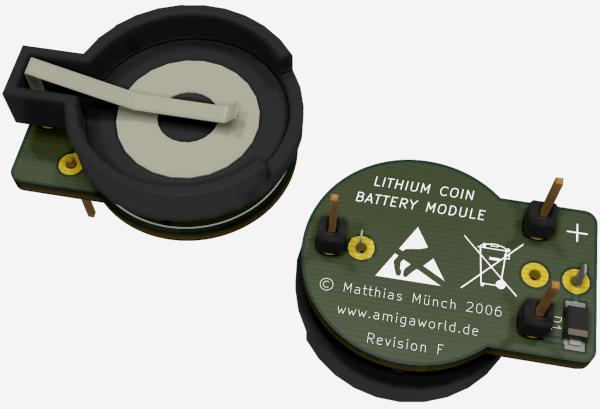 Lithium Coin Battery Modul
